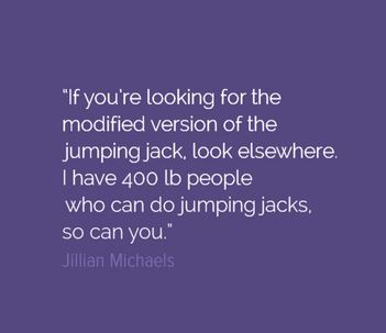 Jumping jack Jillian Michaels