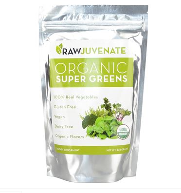 RawJuvenate Organic Super Greens