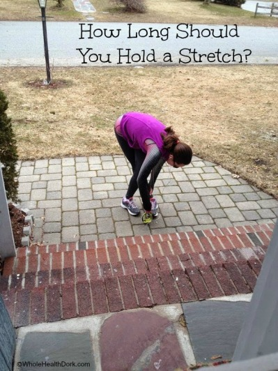 How long to hold a stretch