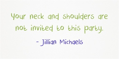 Jillian Michaels streching quote