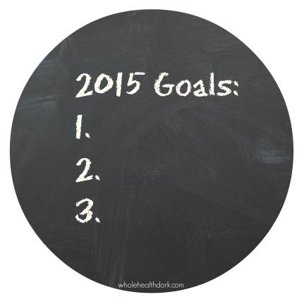 2015 goals list